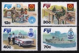 Fiji 1982 Set Of Stamps To Celebrate Disciplined Forces. - Fiji (1970-...)
