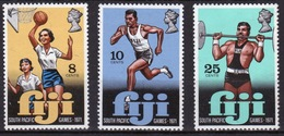 Fiji 1971 Set Of Stamps To Celebrate The Fourth South Pacific Games, - Fiji (1970-...)