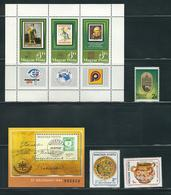 HUNGARY, 1984 LOT OF STAMPS MNH/PHILATELY/PHILATELIC EVENTS - Filatelia & Monedas