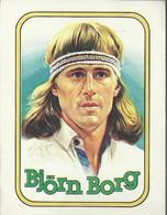 Panini's Stickers - Björn Borg - Autocollants