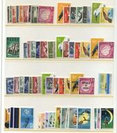 NAURU 1954/1973 = 64 Stamps MNH - Nauru