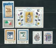 HUNGARY, 1985 LOT OF STAMPS MNH/PHILATELY/PHILATELIC EVENTS - Filatelia & Monedas