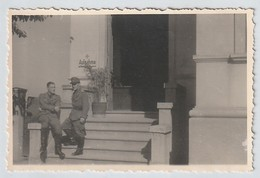 Photo German Soldiers Posing In Hospital Wehrmacht - III Reich - Germany - WWII - World War - 1939-45