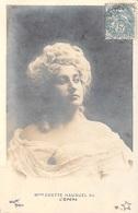 Spectacle-Mme ODETTE HAUGUEL De L'OPERA   (Artiste OPERA) (Editions  Photo WALERY  Paris )*PRIX FIXE - Artistes