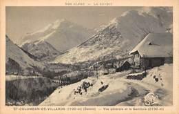 St Saint Colomban De Villards (73) - Vue Générale Et Le Sambuis - France