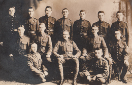 To Identify Real Photo - (?) Kingsey Falls Danville Area - Soldiers Uniforms - VG Condition - 2 Scans - Postcards