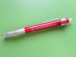 Stylo Publicitaire - Caisse D'Epargne - Logo écureuil - Pens