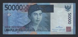Banconota  Indonesia 50000 Rupiah 2005 - Circolata - Indonésie