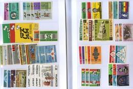 Ethiopia 1965/1975 = 42 Complete Sets (158 Stamps) MNH Cat. Yvert 2006 = € 217,00 - Etiopia