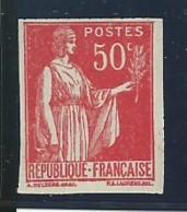 FRANCE: **, N° YT 283i, Non Dentelé, TB - France