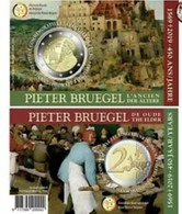 Belgie 2019  2 Euro Commemo Pieter Bruegel  Version Français     In Coincart   Extreme Rare !!! - Belgien