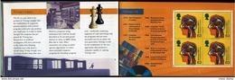 Schach Chess Ajedrez échecs - Großbritannien Great Britain 1999 - Alan Turing - BRITISCHE WISSENSCHAFTLER - Echecs