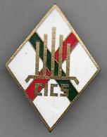 Légion -  1e R.E.I. - CICS - Insigne émaillé Drago Matriculé 96 - Armée De Terre