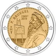 Belgie 2019  2 Euro Commemo Pieter Bruegel    Extreme Rare !!! - Belgien