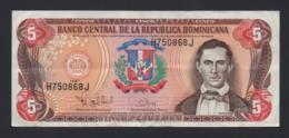 Banconota Repubblica Dominicana - 5 Pesos Oro 1997 - Circolata - Repubblica Dominicana