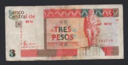 Banconota Cuba - 3 Pesos 2006 Circolata - Cuba