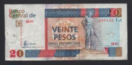 Banconota Cuba - 20 Pesos 2006 Circolata - Cuba