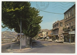 {73276} 13 Bouches Du Rhône Marseille , L' Estaque Plage , Rue Centrale ; Voitures , Commerces - L'Estaque