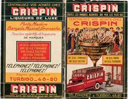 Fascicule 54 Pages Publicitaires / CRISPIN Liqueurs De Luxe / Bières Champagne Rhum, Etc /  Mai 1935 / Paris - France