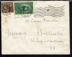 Etats-Unis - Timbres N° 73 + 129 Sur Enveloppe De Philadelphia Pour Berlin - B/TB - - 1847-99 Emissions Générales