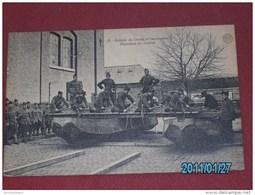 MILITARIA - ARMEE BELGE - Soldats Du Génie -   Guindage Du Tablier - Manoeuvres