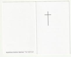 Doodsprentje Zuster Camilla (Amelia HOREMANS) Herenthout 1909 Gasthuiszuster Turnhout 2001 - Devotion Images