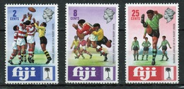 Fiji 1973 Set Of Stamps To Celebrate The Diamond Jubilee Of Rugby Union. - Fiji (1970-...)