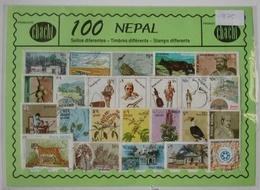 100 SELLOS DE NEPAL - Nepal
