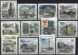 Germany (Berlin) 1965/66 - Mi 254/65 - YT 230/41 ( Views Of New Berlin ) MNH** Complete Issue - [5] Berlin