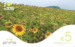 *SAN MARINO - PRIMA* - Scheda NUOVA (MINT) - San Marino