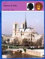 Maurice De Sully 1120 1196  Notre Dame De Paris  Histoire De France  Religion - Histoire