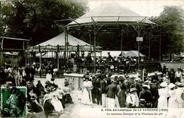 94. VAL DE MARNE - Fête Aérostatique De LA VARENNE (1908). Le Nouveau Kiosque Et La Musique Du 46e. - Otros Municipios