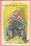 Carte Système Castelsarrasin Voulez Vous Faire Un Tour à: Sur Un Air D'accordéon - Castelsarrasin