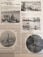 1900 LES SPORTS À L'EXPOSITION ( JEUX OLYMPIQUE ) - LES CHAMPIONNATS DU MONDE DE NATATION - Books, Magazines, Comics