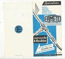 Publicité, Raccords & Flexibles ,ERMETO ,Levallois Perret , Seine , 6 Pages , 2 Scans  ,frais Fr 1.65 E - Advertising