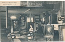 NEUVILLE AUX BOIS - Atelier De M.D.L. , Artiiste Peintre - Altri Comuni