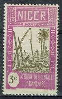 Niger, Well, 3c., 1939, MH VF - Niger (1921-1944)