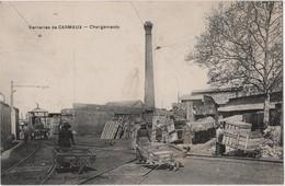 CPA 81 CARMAUX / Chargement à La Verrerie - Carmaux