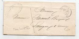 """- ARIEGE - LAVELANET - Rare Taxe Locale à """"1"""" - Càd Type 15 - 1859 - 1849-1876: Période Classique"""