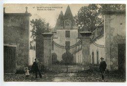 Saint Aulaye De Breuilh (Saint Antoine De Breuilh) Entrée Du Château - France
