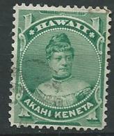Hawai  -  Yvert N° 34 Oblitéré     Po60614 - Hawaii