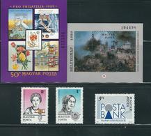 HUNGARY, 1989 LOT OF STAMPS MNH/PHILATELY/PHILATELIC EVENTS - Filatelia & Monedas