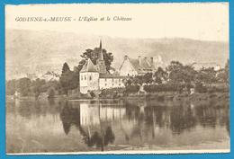 (G095) GODINNE - L'Eglise Et Le Château - Yvoir