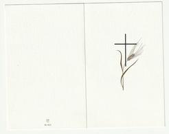 Doodsprentje Zuster Alfonse (GILS Joanna) Franciscanesse Turnhout 1891 Retie 1988 - Devotion Images