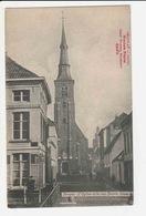 Bruges - L'Eglise Et La Rue Sainte Anne / Chocolat Cacao Wauters Freres - Brugge