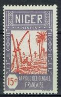 Niger, Well, 15c., 1926, MH VF - Niger (1921-1944)