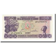 Billet, Guinea, 100 Francs, 1960-03-01, KM:30a, NEUF - Guinée
