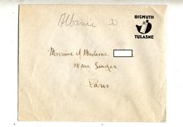 Enveloppe Entete Bismuth Tulasne Theme Estomac - Autres Collections