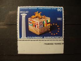 GREECE:1992.EUROPEAN UNION.HELLAS.1928,MNH STAMP. - Griechenland