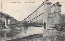 Yenne (73) - Le Pont Suspendu - Yenne